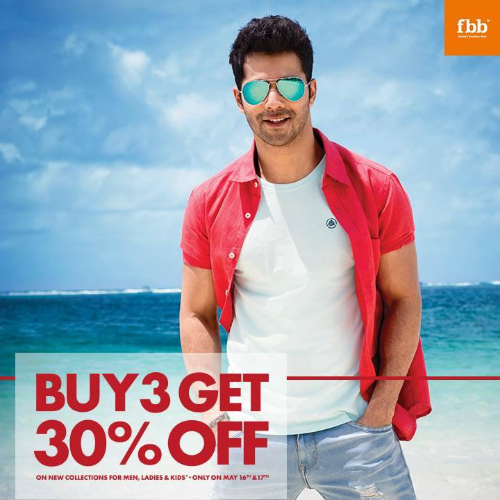 RT @fbb_india: Fuel your craze for fashion with the fbb Crazy Weekend Offer.#fbbindia http://t.co/ib4JTH9uX8