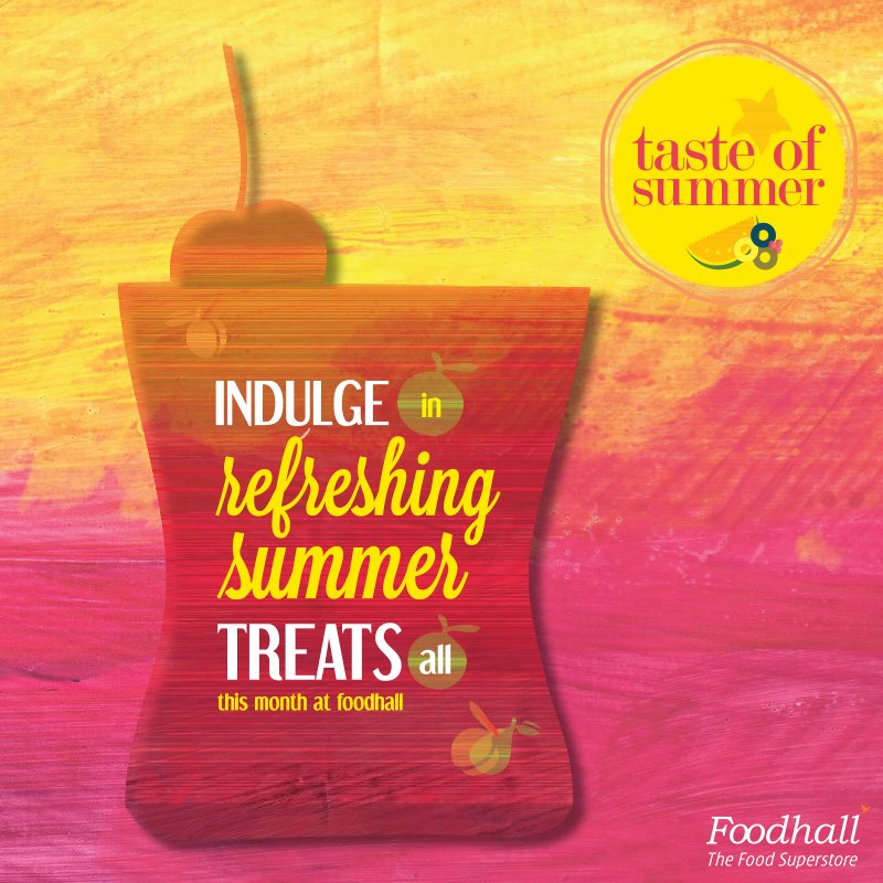 RT @FoodhallIndia: We are summer ready!  Lose yourself to cool treats and beat the heat all this month at Foodhall. https://t.co/225uiIxjV6