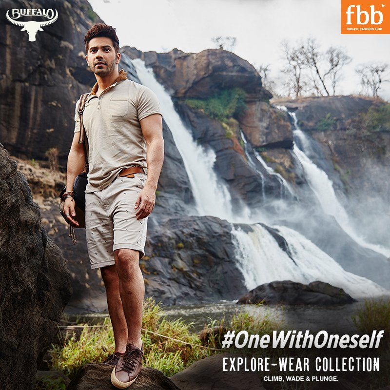 RT @fbb_india: It's not the mountains that we have to conquer, its ourselves. #OneWithOneself @Varun_dvn https://t.co/IGWySJRyHU