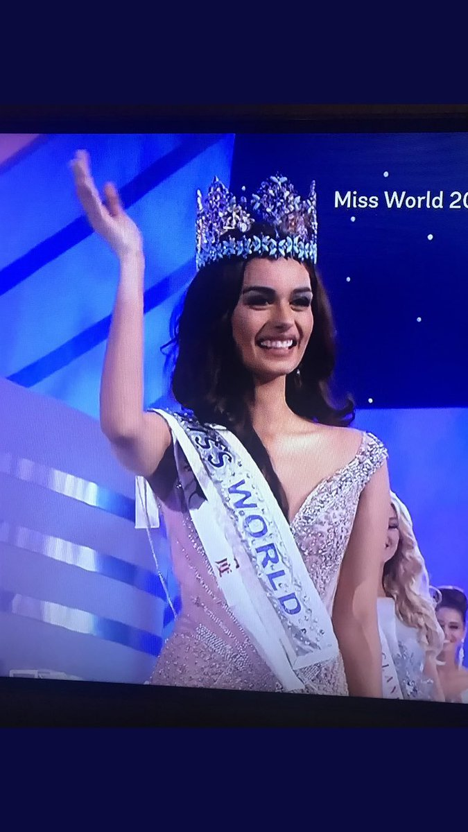 RT @pawansrd: So proud of #fbbMissIndia for getting the crown home !! #MissWorld @fbb_india @fg_buzz https://t.co/54chuaTgqe