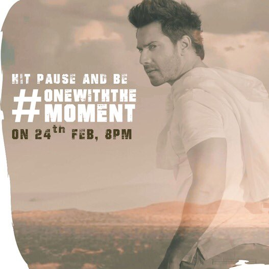 RT @Varun_dvn: #onewithoneself get ready https://t.co/NcqpbUCAIQ