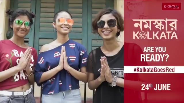 RT @centralandme: Get ready as #KolkataGoesRed on 24th June. https://t.co/2Mv58BpcOr